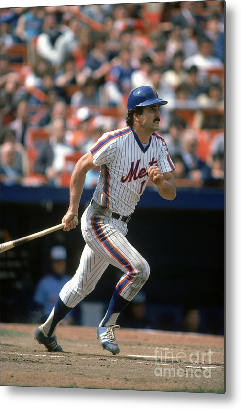 1980-1989 Metal Print featuring the photograph Keith Hernandez by Rich Pilling