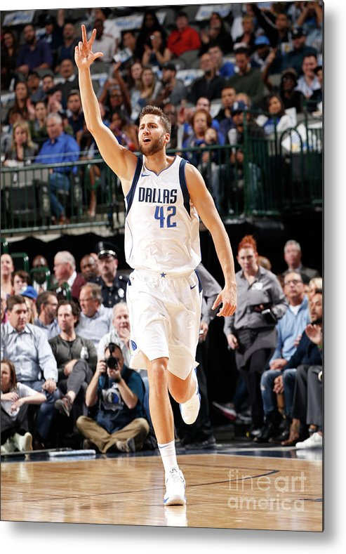 Nba Pro Basketball Metal Print featuring the photograph Maxi Kleber by Glenn James