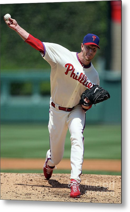 People Metal Print featuring the photograph Roy Halladay by Jim Mcisaac