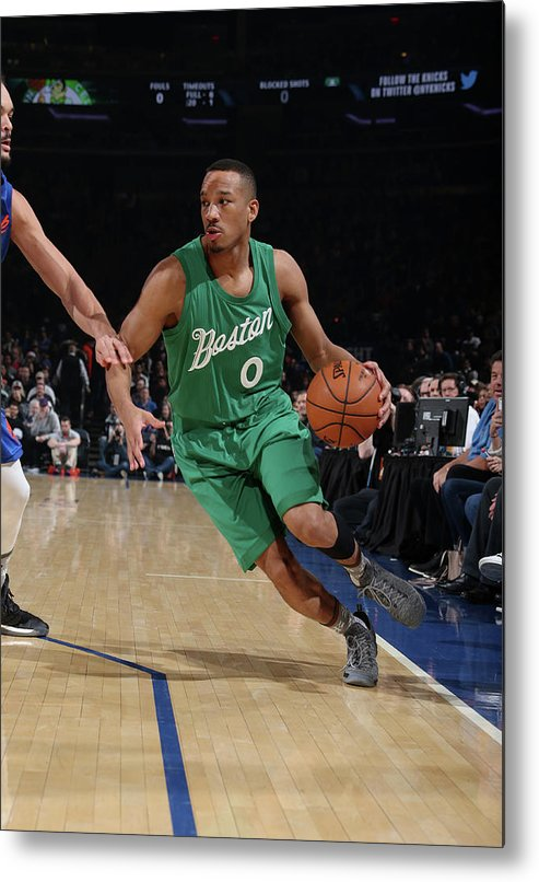 Nba Pro Basketball Metal Print featuring the photograph Avery Bradley by Nathaniel S. Butler