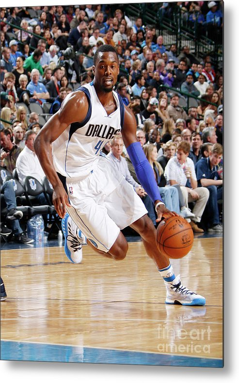 Nba Pro Basketball Metal Print featuring the photograph Harrison Barnes by Danny Bollinger