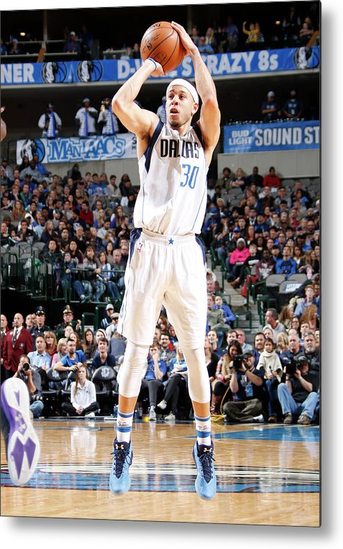 Nba Pro Basketball Metal Print featuring the photograph Seth Curry by Danny Bollinger