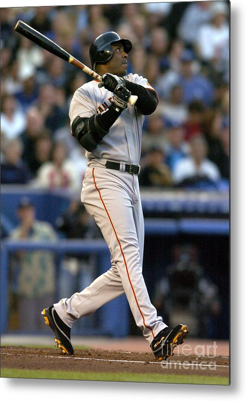 California Metal Print featuring the photograph Barry Bonds by Kirby Lee