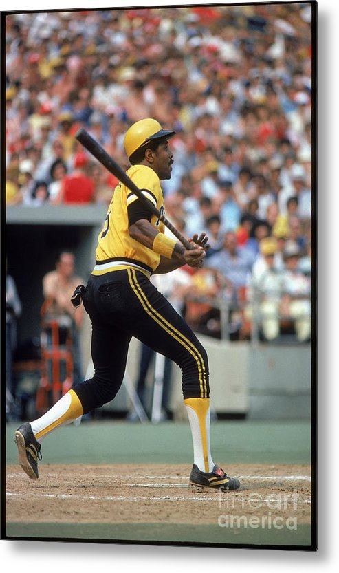 Sports Bat Metal Print featuring the photograph Willie Stargell by Rich Pilling