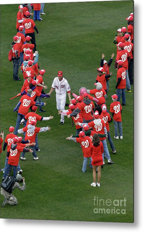 National League Baseball Metal Print featuring the photograph Jayson Werth by Rob Carr