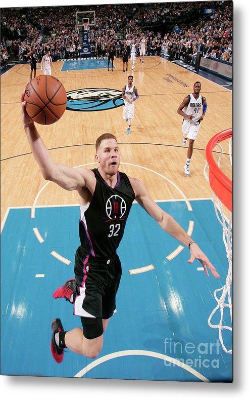 Nba Pro Basketball Metal Print featuring the photograph Blake Griffin by Glenn James