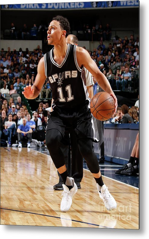 Nba Pro Basketball Metal Print featuring the photograph Bryn Forbes by Danny Bollinger