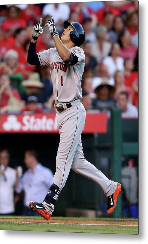 Second Inning Metal Print featuring the photograph Carlos Correa by Stephen Dunn