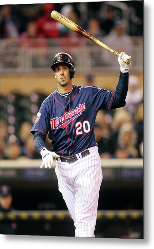 Ninth Inning Metal Print featuring the photograph Chris Colabello by Andy King
