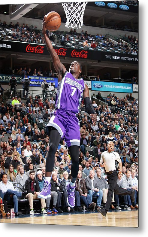 Nba Pro Basketball Metal Print featuring the photograph Darren Collison by Danny Bollinger