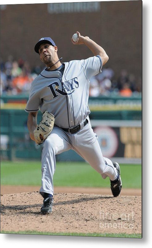 David Price Metal Print featuring the photograph David Price by Mark Cunningham