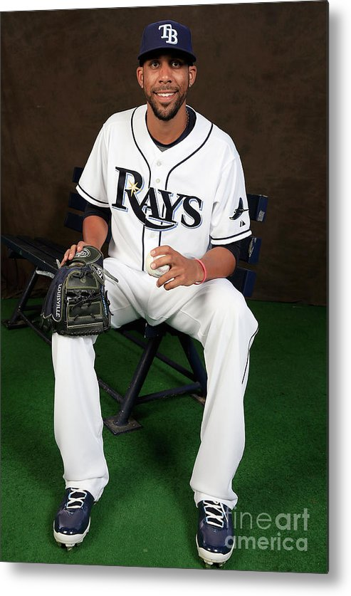 Media Day Metal Print featuring the photograph David Price by Rob Carr