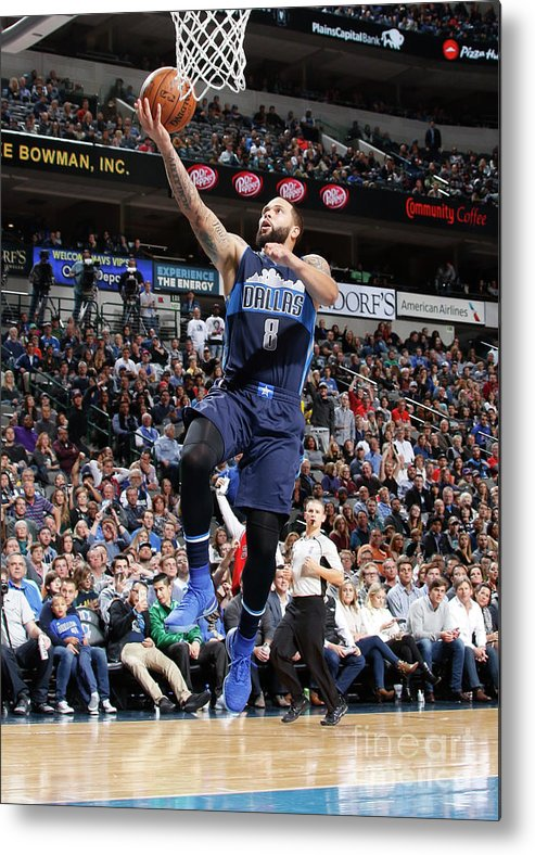 Nba Pro Basketball Metal Print featuring the photograph Deron Williams by Danny Bollinger
