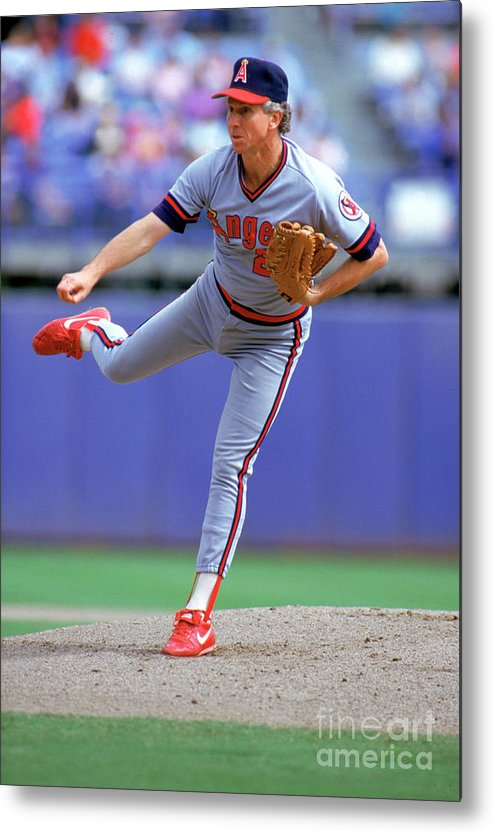 1980-1989 Metal Print featuring the photograph Don Sutton by Louis Deluca