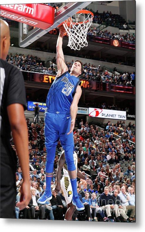 Nba Pro Basketball Metal Print featuring the photograph Doug Mcdermott by Glenn James