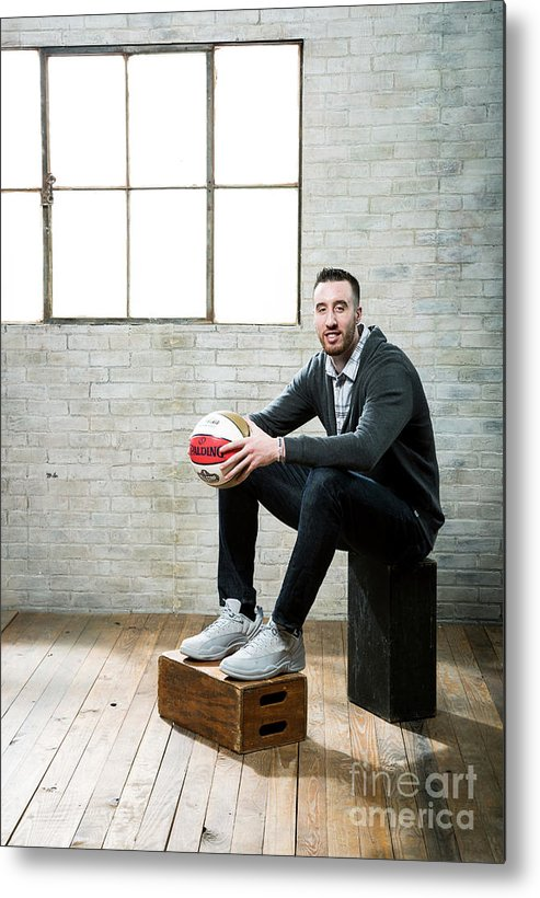Nba Pro Basketball Metal Print featuring the photograph Frank Kaminsky by Nathaniel S. Butler