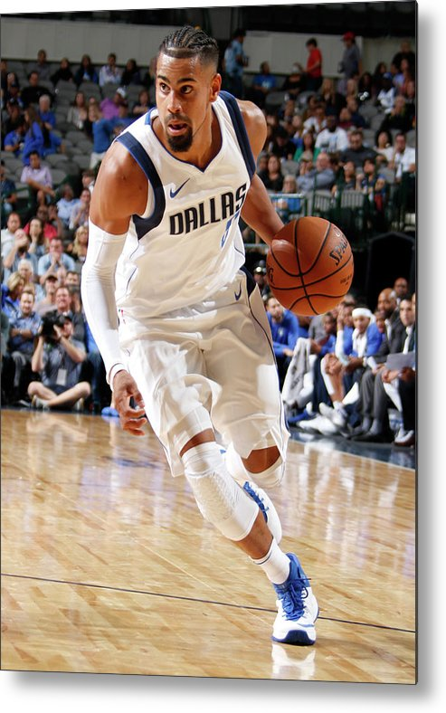 Nba Pro Basketball Metal Print featuring the photograph Gian Clavell by Danny Bollinger