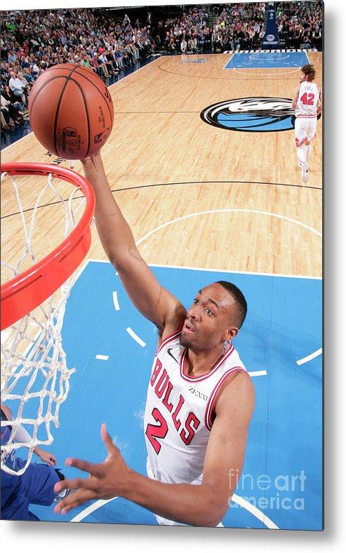 Nba Pro Basketball Metal Print featuring the photograph Jabari Parker by Glenn James
