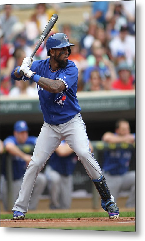 American League Baseball Metal Print featuring the photograph Jose Reyes by Andy King