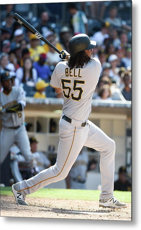 Ninth Inning Metal Print featuring the photograph Josh Bell by Denis Poroy