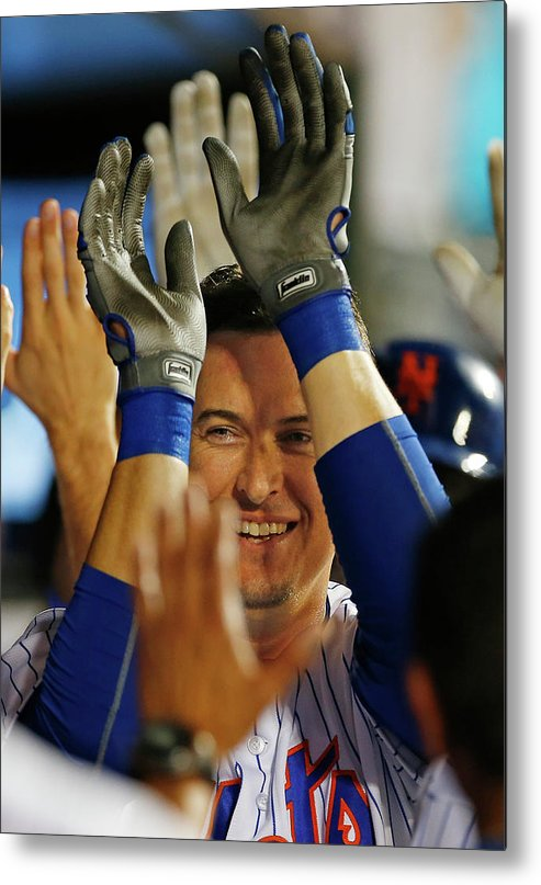 Ninth Inning Metal Print featuring the photograph Kelly Johnson by Rich Schultz