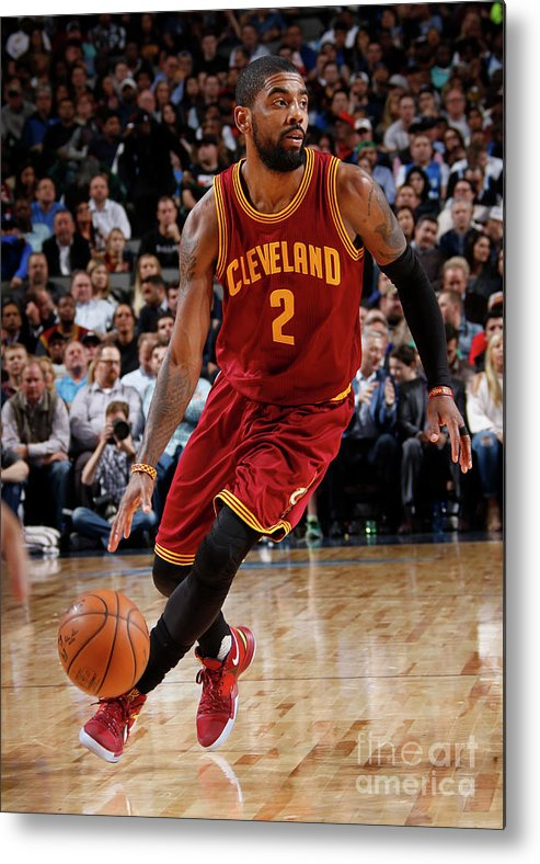 Nba Pro Basketball Metal Print featuring the photograph Kyrie Irving by Glenn James