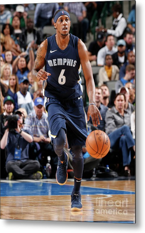 Nba Pro Basketball Metal Print featuring the photograph Mario Chalmers by Glenn James