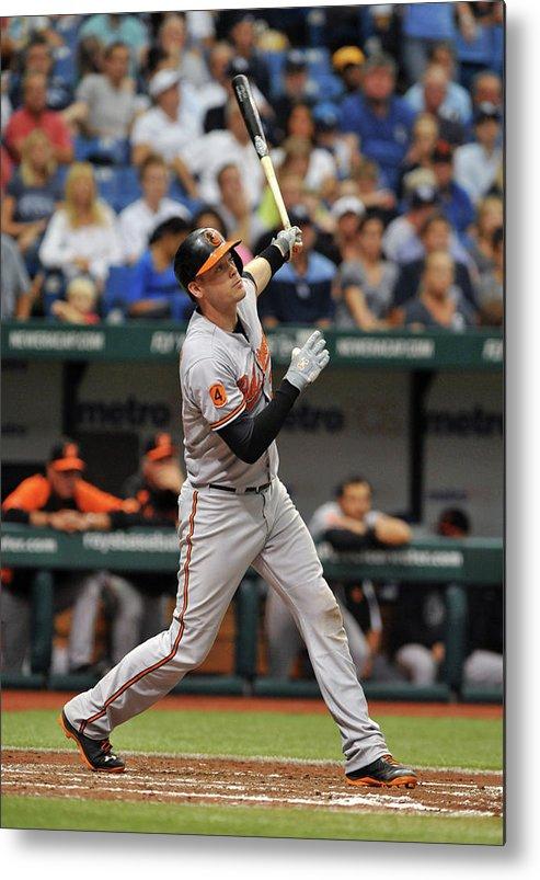 Baseball Catcher Metal Print featuring the photograph Matt Wieters by Al Messerschmidt