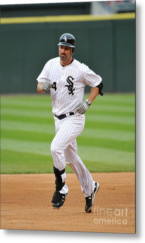 People Metal Print featuring the photograph Paul Konerko by Brian Kersey