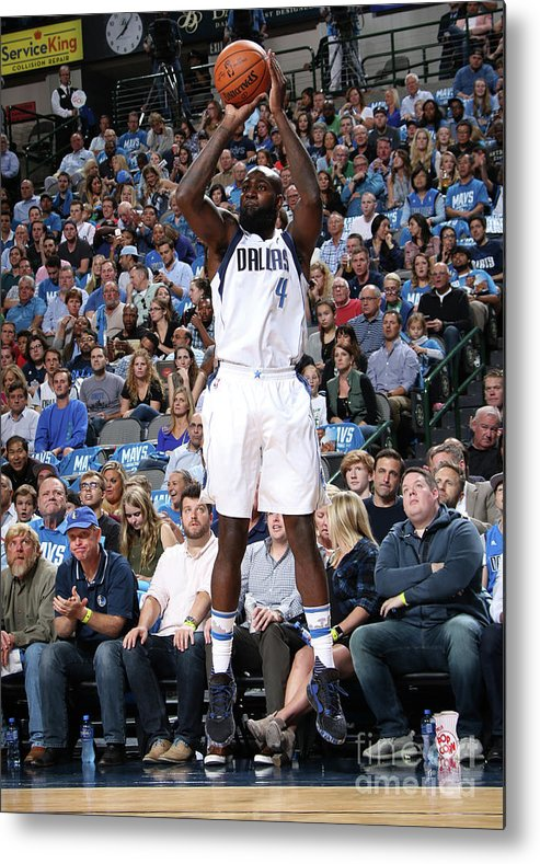 Nba Pro Basketball Metal Print featuring the photograph Quincy Acy by Glenn James