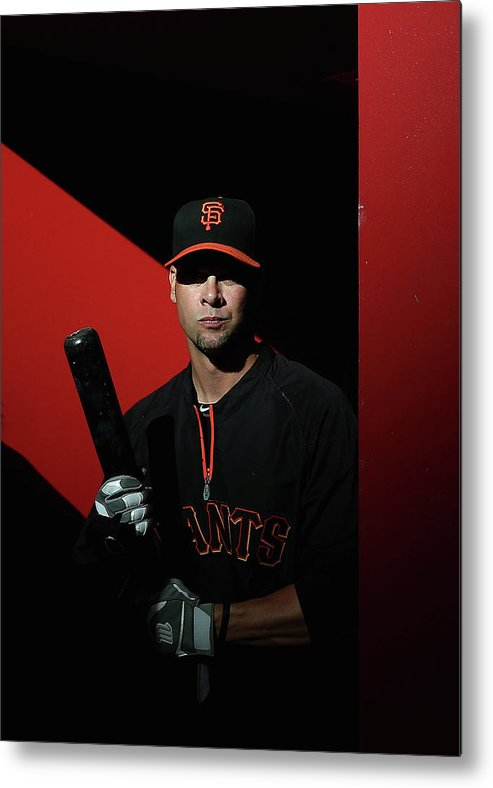 Ryan Vogelsong Metal Print featuring the photograph Ryan Vogelsong by Christian Petersen