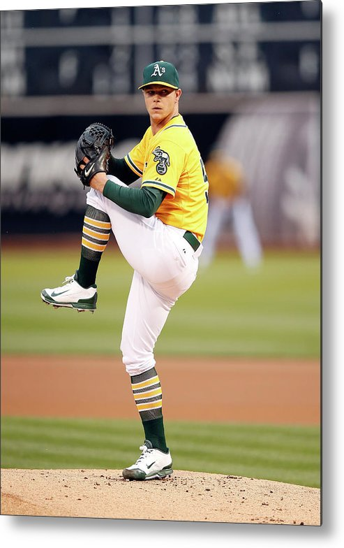 People Metal Print featuring the photograph Sonny Gray by Ezra Shaw