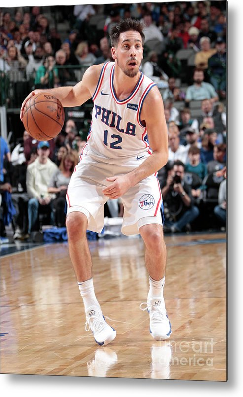 Nba Pro Basketball Metal Print featuring the photograph T.j. Mcconnell by Glenn James