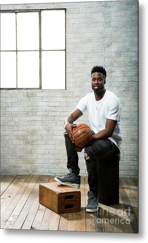 Nba Pro Basketball Metal Print featuring the photograph Wesley Matthews by Nathaniel S. Butler