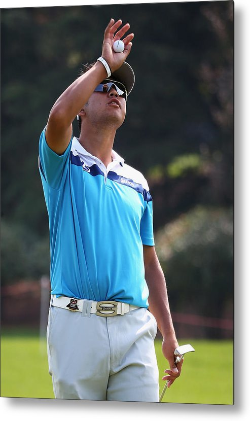 Pro-am Metal Print featuring the photograph WGC - HSBC Champions: Previews by Matthew Lewis