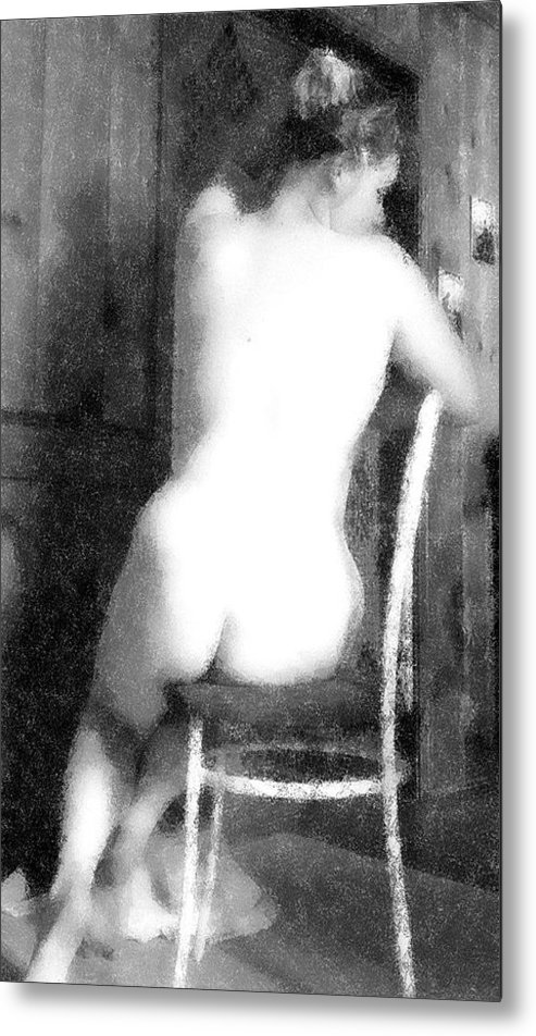 Figure Metal Print featuring the photograph Classic by Scarlett Royal