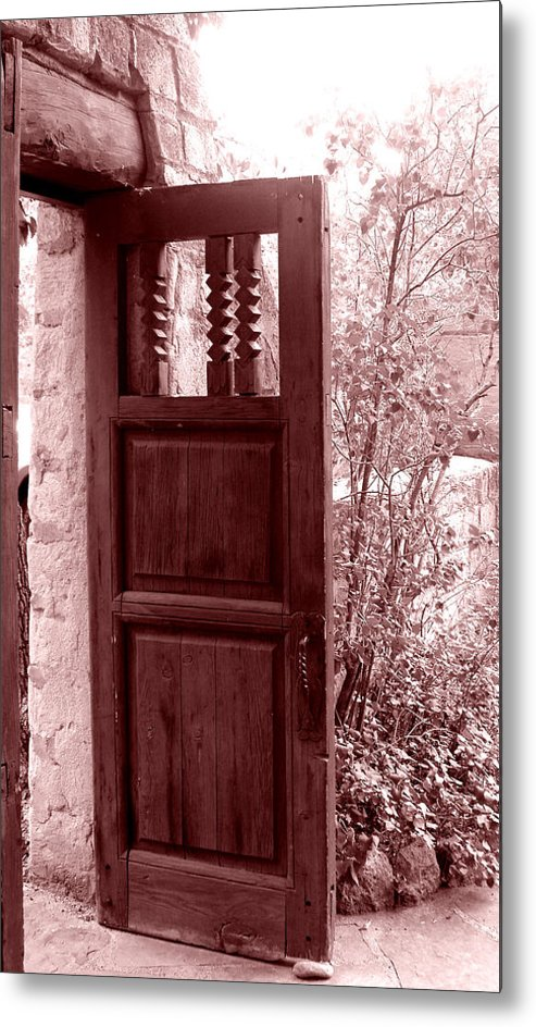 Door Metal Print featuring the photograph The Door by Wayne Potrafka