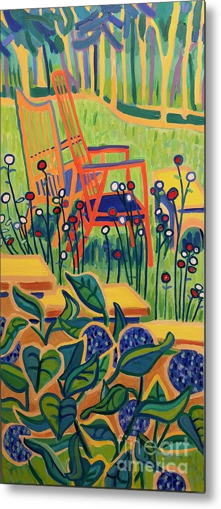 Summer Metal Print featuring the painting Sweet Peace by Debra Bretton Robinson