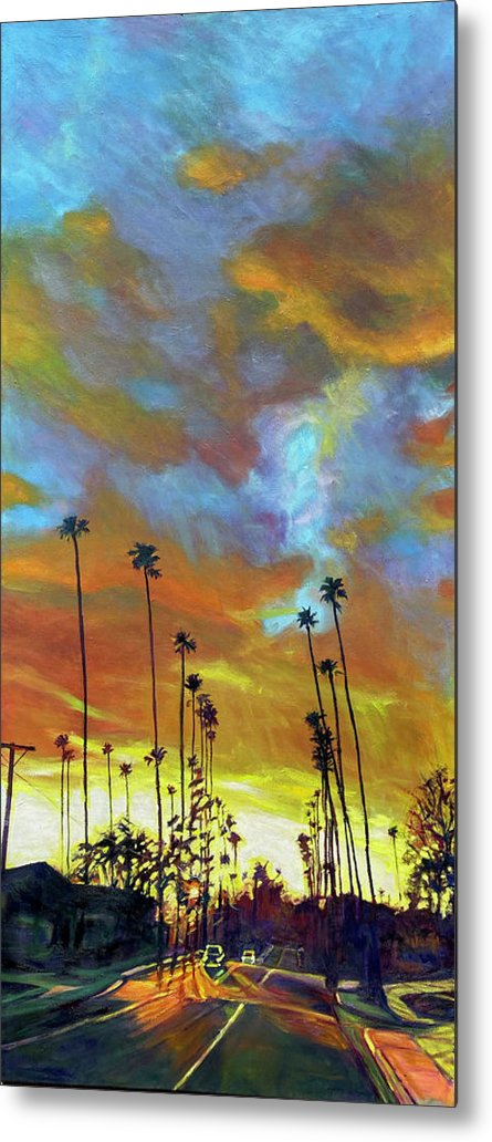 Twilight Metal Print featuring the painting The Whole Picture by Bonnie Lambert