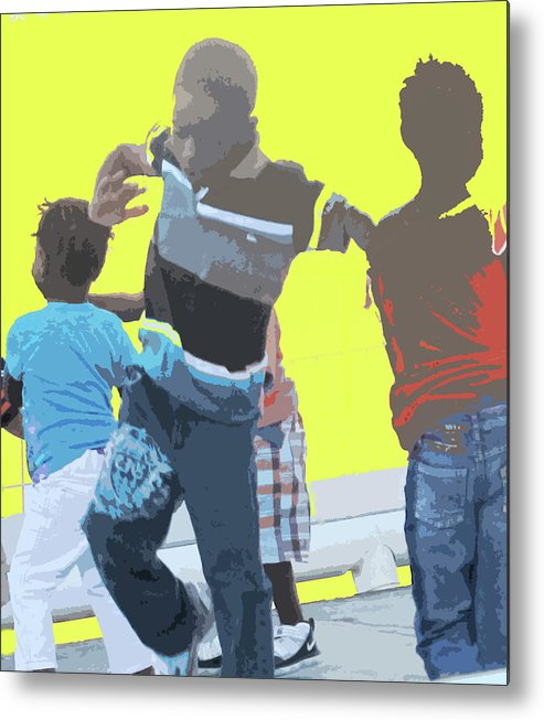 Children Metal Print featuring the photograph Play by Ian MacDonald