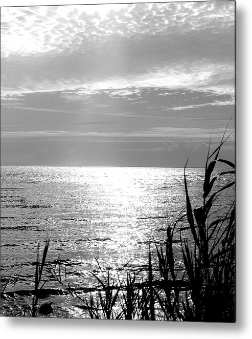 Lake Pontchartrain Metal Print featuring the photograph Cloud Circle Over Lake Pontchartrain by Heather S Huston