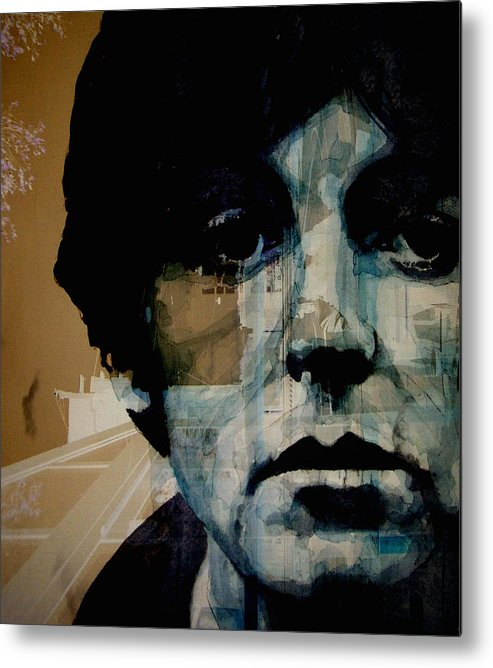 Paul Mccartney Metal Print featuring the painting Penny Lane by Paul Lovering