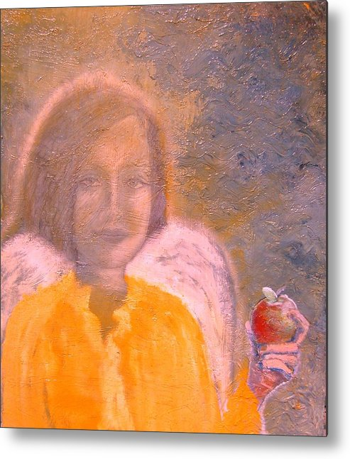 Angels Metal Print featuring the painting Perfect by J Bauer