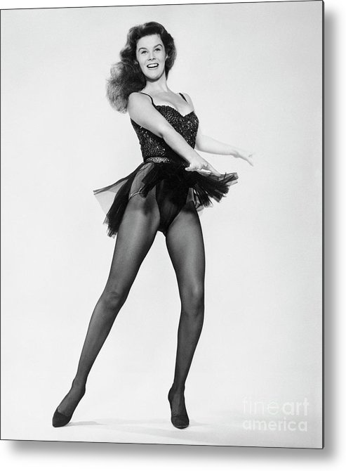 People Metal Print featuring the photograph Ann-margret Performing Dance Scene by Bettmann