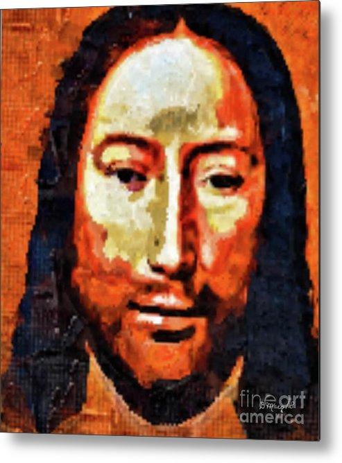 Jesus Metal Print featuring the painting Yeshua by Deborah Selib-Haig DMacq