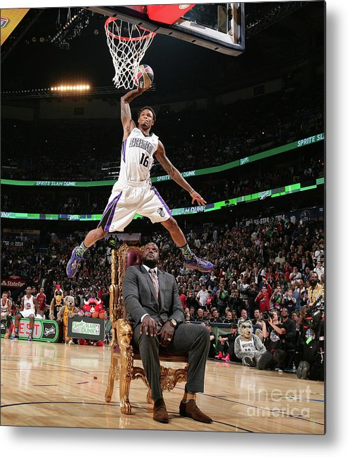Nba Pro Basketball Metal Print featuring the photograph Ben Mclemore by Nathaniel S. Butler
