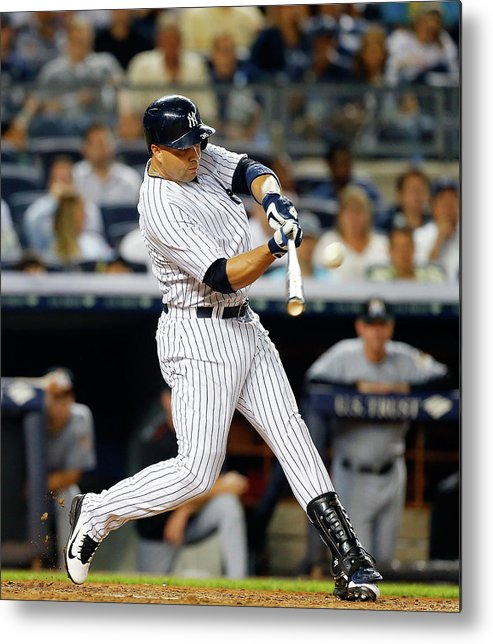 People Metal Print featuring the photograph Carlos Beltran by Jim Mcisaac