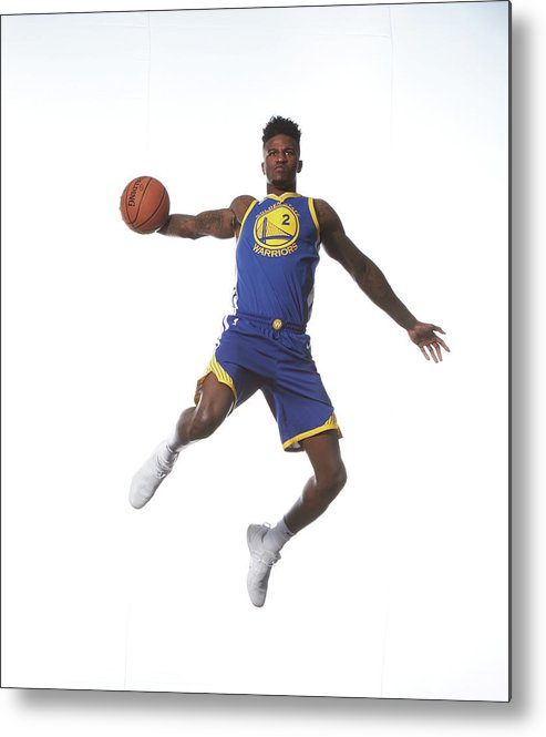 Nba Pro Basketball Metal Print featuring the photograph Jordan Bell by Nathaniel S. Butler