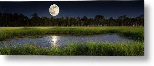 Super Moon On the Mogollon Rim by Mikes Nature