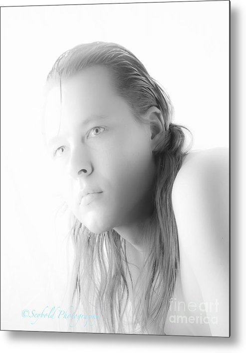 Fashion Portraits Modeling Metal Print featuring the photograph Identity Freedom by David Seybold
